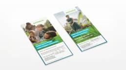 BARMER Flyer aus der BARMER Medien- und Kampagnenwelt