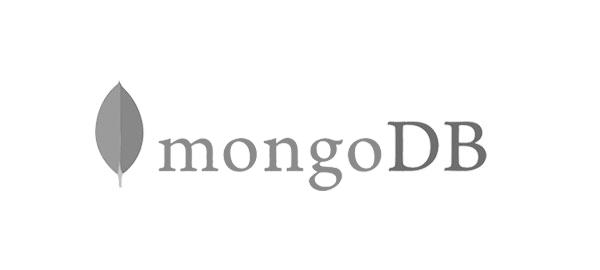Mongo DB Logo auf der Website der CAY SOLUTIONS GmbH.