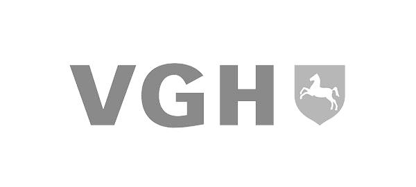 VGH Logo auf der Website der CAY SOLUTIONS GmbH.