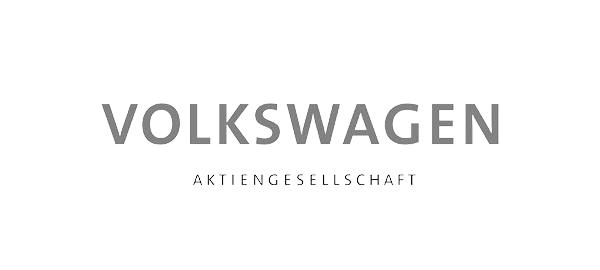 Logo der Volkswagen AG auf der Website der CAY SOLUTIONS GmbH.