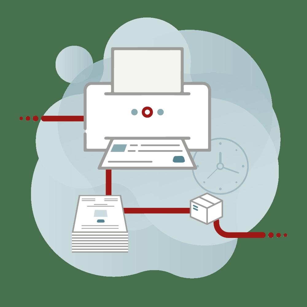 Darstellung des Workflow der Produktion bei CAY PUBLISH
