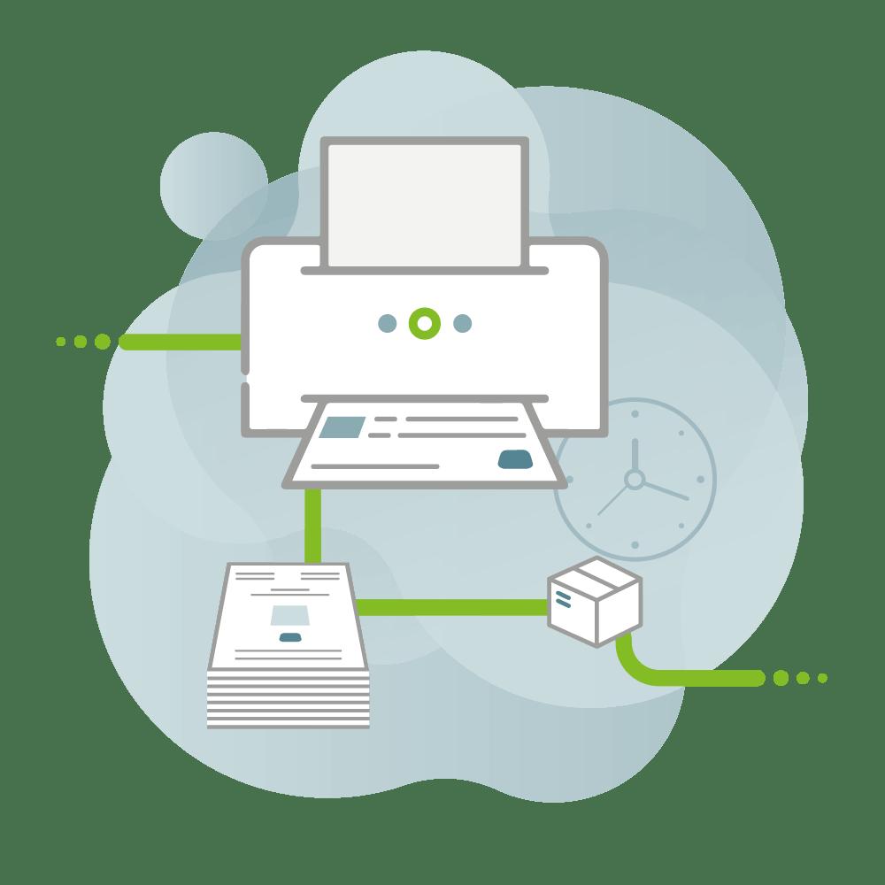 Darstellung des Workflows von CAY PUBLISH